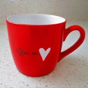 Starbucks Red Coffee = ♥ Mug 12 oz NEW
